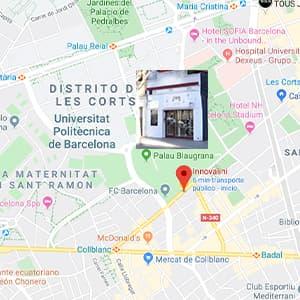reformas integrales cocinas & baños les corts Barcelona innovalini Tienda innovalini reforma integral cocina y baños les corts barcelona